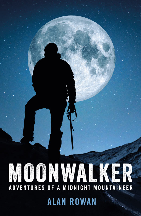 Alan Rowan - Moonwalker Book Cover